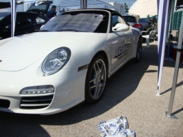 Porsche 911 Carrera 4s 997 Participation in Drag Day of Elliniko