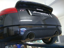 AUDI TT MK1 20VT Turboback exhaust with racing catalytic converter